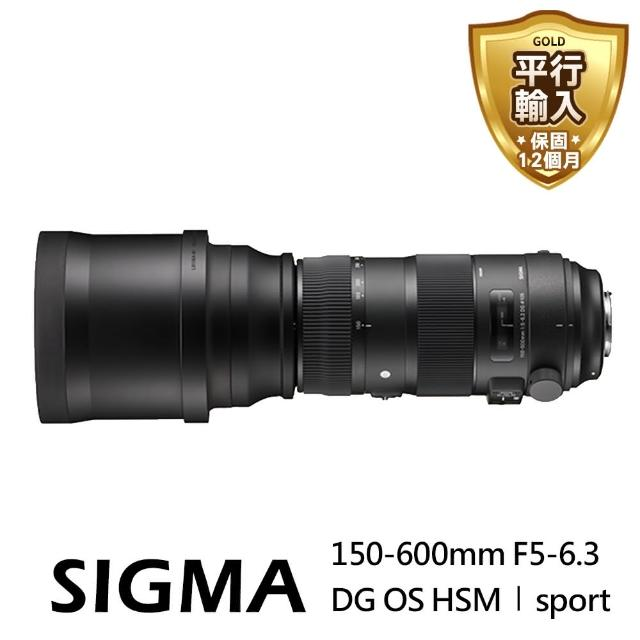 【SIGMA】150-600mm F5-6.3 DG OS HSM Sport-for Canon(平輸)