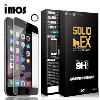 【iMOS】iPhone 6+/6S+  3D曲面滿版康寧螢幕保護貼