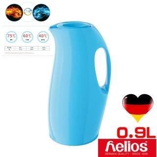 ~德國 helios 海利歐斯~炫彩曲線 保溫壺水瓶藍 900cc .
