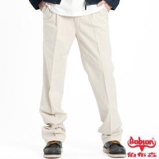 【BOBSON】男款超手感打摺休閒褲(1712-72)
