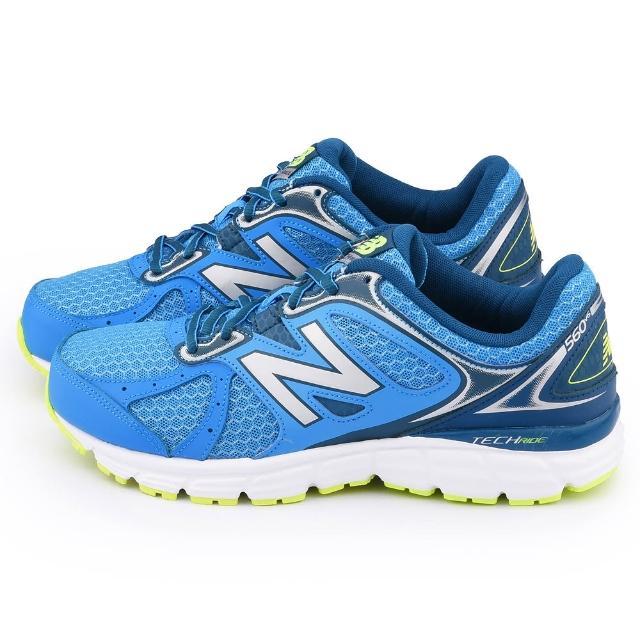 【NewBalance】男款 輕量運動鞋(M560LY6-藍)
