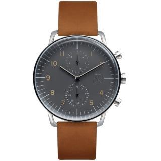 【ZOOM】Refine 旅行者多功能腕錶(灰色)