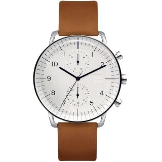 【ZOOM】Refine 旅行者多功能腕錶(白色)