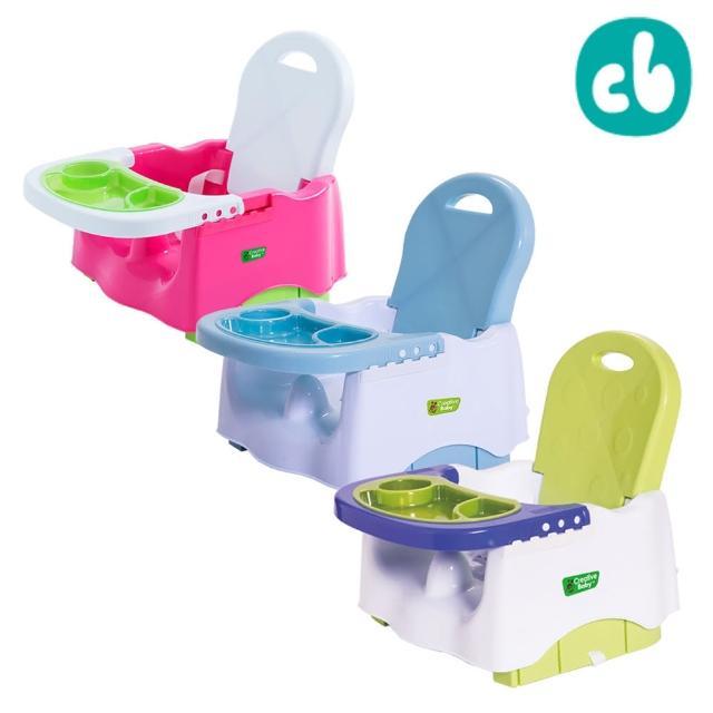 【美國 Creative Baby】創寶貝寶寶小餐椅Booster Seat(嬰兒藍/蜜桃紅/蘋果綠)