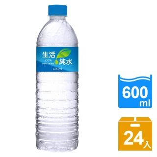 【生活】純水600ml(24入/箱)