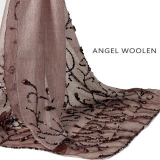 【ANGEL WOOLEN】印度手工披肩(精緻亮片)