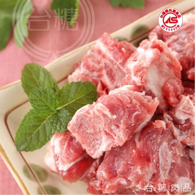 【台糖優質肉品】豬龍骨3kg量販包(CAS認證健康豬肉)