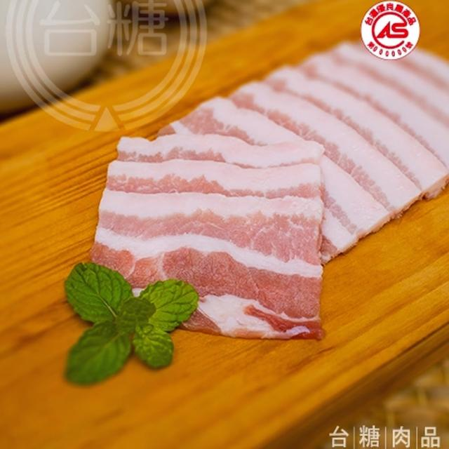 【台糖優質肉品】台糖五花肉片3kg量販包(CAS認證健康豬肉)
