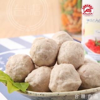 【台糖優質肉品】原味貢丸3kg量販包;約150顆(CAS認證健康豬肉)