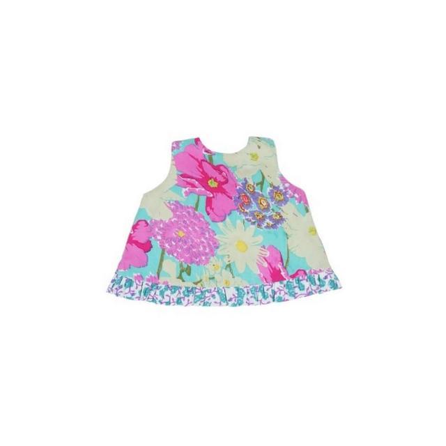 【美國 RuffleButts】小女童甜美荷葉邊搖擺/洋裝 諾拉貝拉(BRSW09)