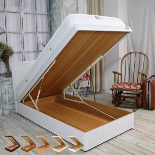 【時尚屋】格頓3.5尺寬版尾掀加大單人床-五色可選-不含床頭櫃-床墊-床頭片(1WG5-354A)