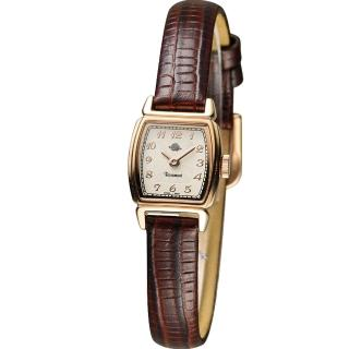 【玫瑰錶 Rosemont】骨董風玫瑰系列時尚腕錶(TRS46-05-BR)