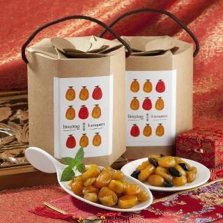 【濎好食品】梅子蜜金棗桶裝禮盒x2(500g)