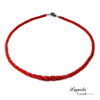 【大東山珠寶】天然全紅沙丁珊瑚項鍊3條轉19003(天然全紅沙丁珊瑚)