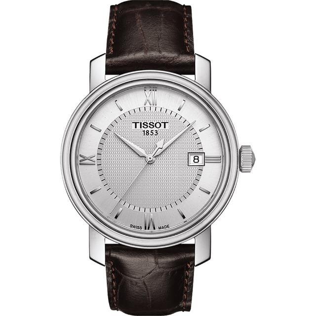 【TISSOT】Bridgeport 寶環系列經典石英腕錶(T0974101603800)