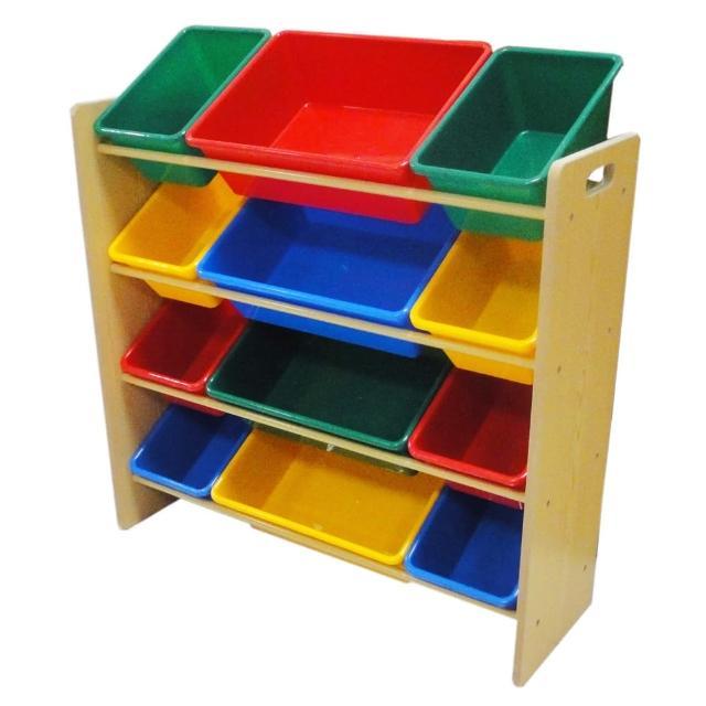 【孩子國】四層玩具收納架