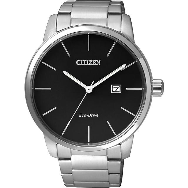 【CITIZEN】Eco-Drive光動能都會腕錶(BM6960-56E)