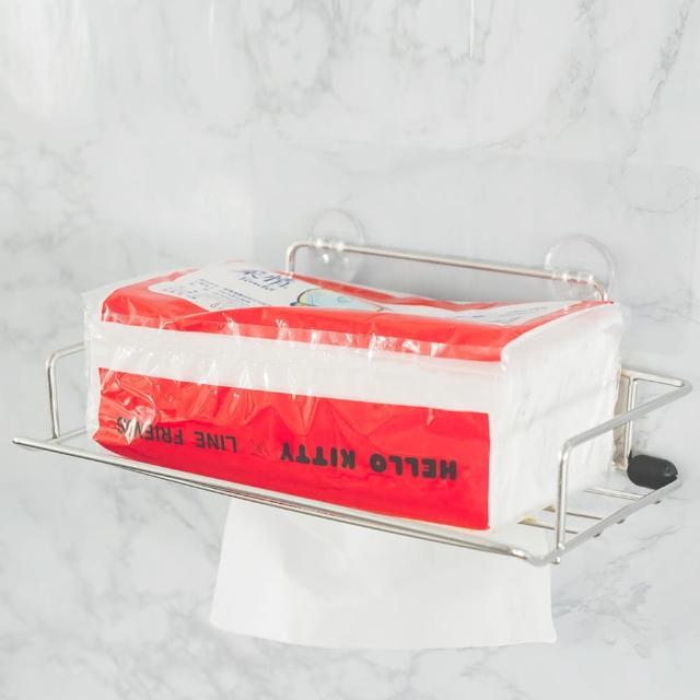 【樂活主義】新魔力霧面無痕貼系列-304不鏽鋼面紙盒抽取架(-搶購)