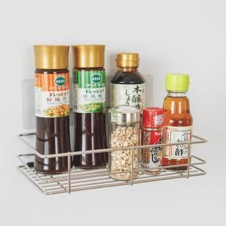 【樂活主義】新魔力霧面無痕貼系列-304不鏽鋼洗衣粉架(-搶購)