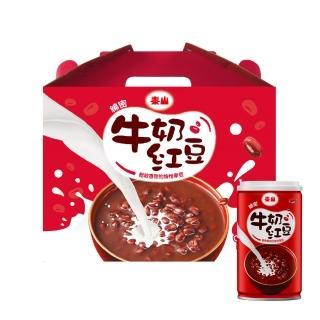 【泰山】綿密牛奶紅豆330g(12入/禮盒)
