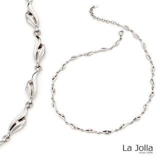 【La Jolla】夢想之翼 純鈦鍺項鍊(銀色)