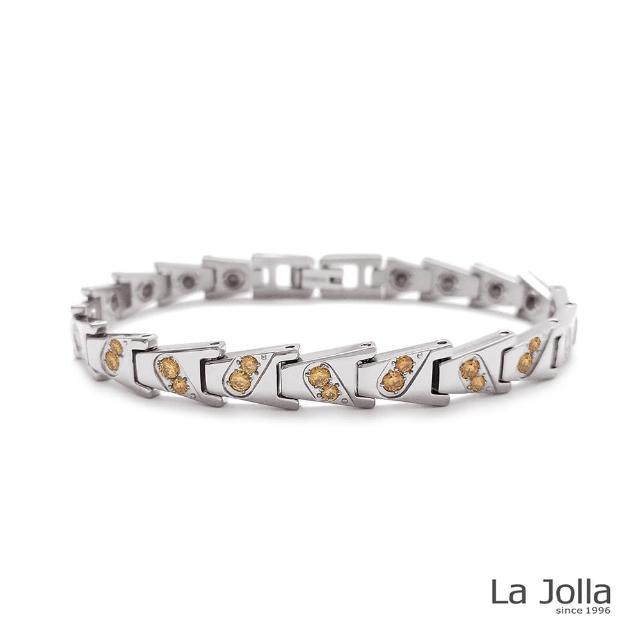 【La Jolla】愛到最高點 純鈦鍺手鍊(女款)