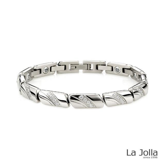 【La Jolla】巴黎戀人 純鈦鍺手鍊(女款)