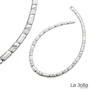 【La Jolla】巴黎戀人 純鈦項鍊(女款)