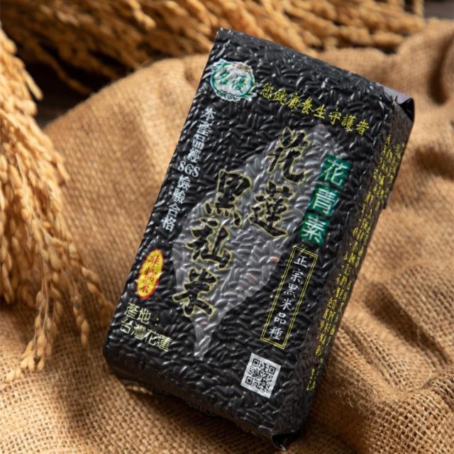 【名優】花蓮養生黑米10包組-