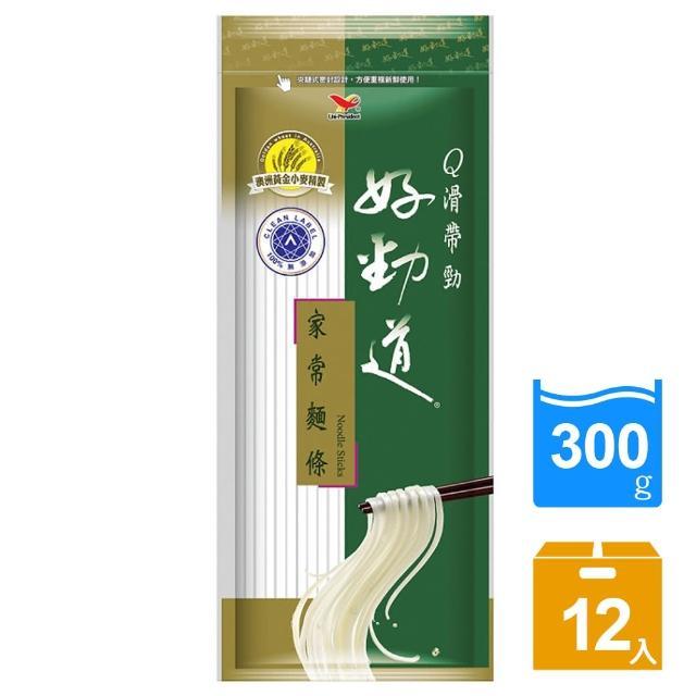 【好勁道】家常麵條12入/箱