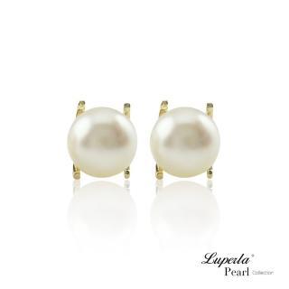 【大東山珠寶】雪白之星 純銀珍珠耳環(時尚珍珠)