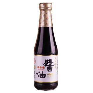 【屏大】非基改薄鹽醬油玻璃瓶330ml.