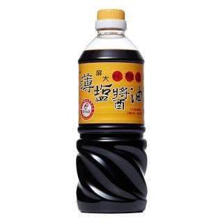 【屏大】非基改薄鹽醬油710ml