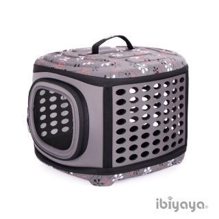 【IBIYAYA依比呀呀】EVA輕巧摺疊寵物提籠-大象灰(FC1006)