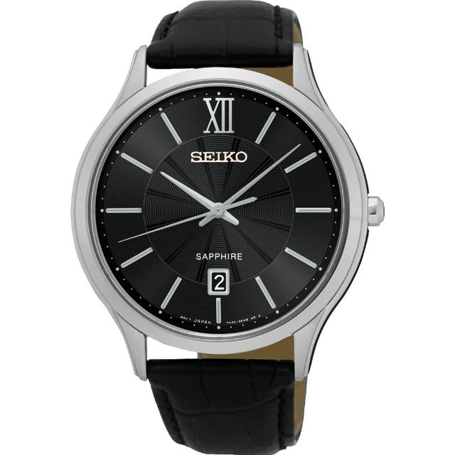 【SEIKO】城市簡約美學時尚腕錶-黑/42mm(7N42-0GG0N SGEH53P2)