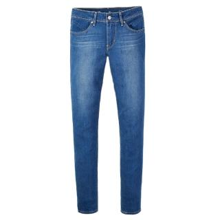 【Levis】REVEL中腰窄管丹寧牛仔褲 /  九分褲 / 湛藍水洗
