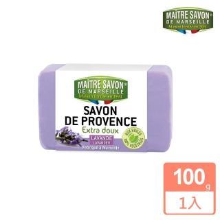 【法國 玫翠思】普羅旺斯植物皂100g(薰衣草)