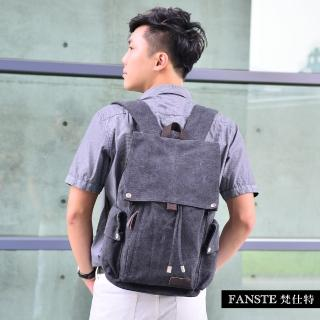 【Fanste_梵仕特】帆布遊風 多功能後背包(8113)