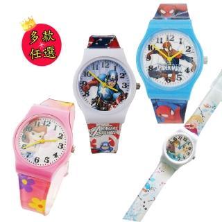 【Disney&Marvel】熱門卡通錶兒童錶(12款任選)