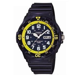 【CASIO】潛水風DIVER LOOK系列錶(MRW-200HC-2B)