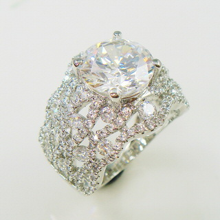 【Celosa珠寶】高貴晶鑽戒