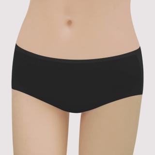 【曼黛瑪璉】16SS紓壓好動-保氧  低腰寬邊三角無痕內褲(黑)