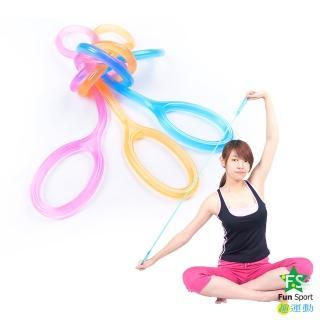 【Fun Sport】好動感果凍纖體繩(附調整環)(彈力帶)