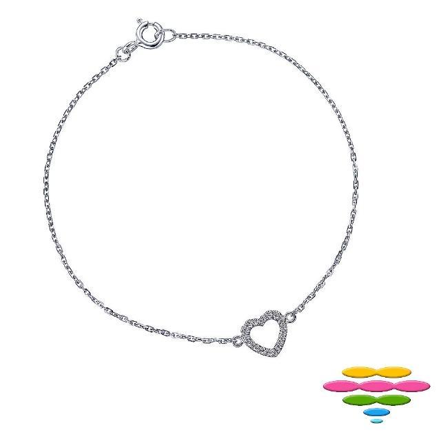【彩糖鑽工坊】幸福樂章 Happiness 鑽石項鍊(CL-PD180 低音譜記號)