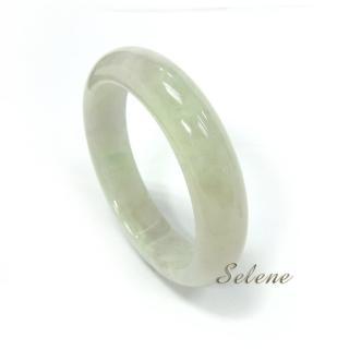 【Selene珠寶】珍藏冰種翡翠手鐲(A貨翡翠6604)