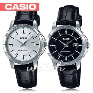 【CASIO 卡西歐】送禮首選-時尚氣質女錶 鏡面3cm(LTP-V004L)