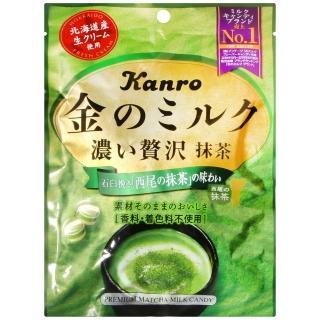 【Kanro甘樂】金牛奶糖-抹茶(70g)