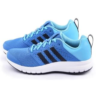 【Adidas】男款 Madoru M 輕量慢跑鞋(S77495-藍)