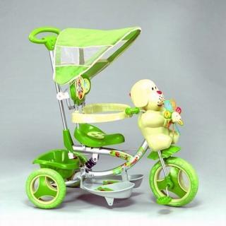 【親親Ching Ching】風車小狗三輪車〈綠色〉 XG3403BPA-028