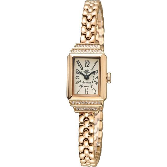 【玫瑰錶 Rosemont】骨董風玫瑰系列VI時尚鍊錶(TRS36-05-AR)